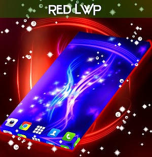 Red Live Wallpaper - screenshot