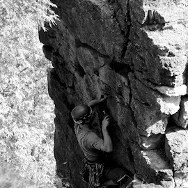 by Michael Cawley - Sports & Fitness Climbing