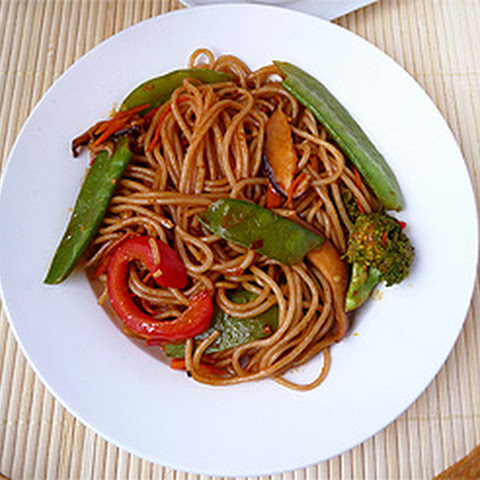Chinese Vegetarian Rice Noodles