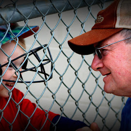 A Grandfather's Love  by Pamm Smith - People Family ( love, grandpa, family, special moment, grandson )