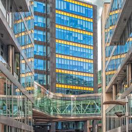 Google Head office Dublin by Paul Holmes - Buildings & Architecture Office Buildings & Hotels ( nikon 35mm f2 lens, dublin city, landscapes.nikon d700 )
