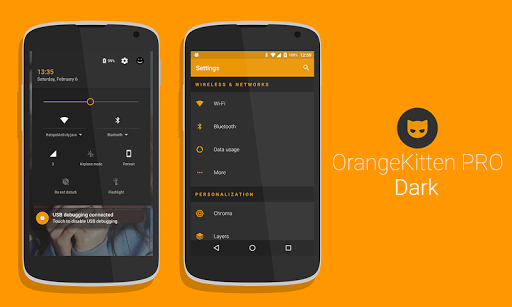 [Substratum] OrangeKitten PRO - screenshot