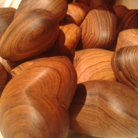 Wooden Hearts by Ernie Kasper - Artistic Objects Other Objects ( hearts, wood, grain, design, shapes )