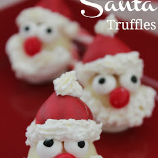 Quick & Easy Santa Truffles