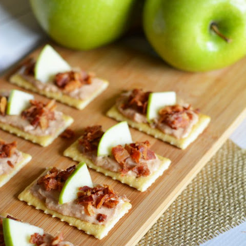 Bacon Apple Cheese Appetizers