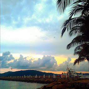 Rainy Afternoon @ Sutera Harbour, Kota Kinabalu by Gracie Ho - Instagram & Mobile Android