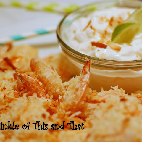 Floridian Foodie Series - Baked Coconut Shrimp and Key Lime Dip