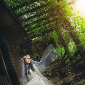 My Day by Fikri Arief Utama - Wedding Bride ( wedding photography, woman, wedding dress, gown, bride )