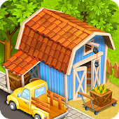 Download Farm Town:Happy City Day Story APK on PC