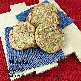 Nutty Bits Cookies #CreativeCookieExchange