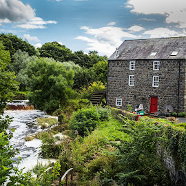 Irish Mill by George Nichols - Landscapes Travel ( mill, uk, europe, ireland, northern ireland )