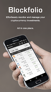 Blockfolio Bitcoin/Altcoin App screenshot for Android