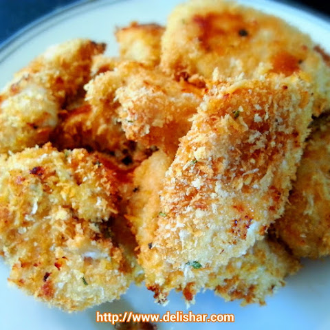 Baked Healthier Chicken Nuggets