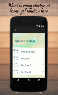 Chicken Recipes Guide - screenshot