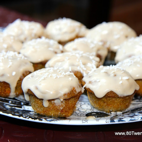 Carrot Cake Cupcakes - Vegan, Gluten Free and Paleo!