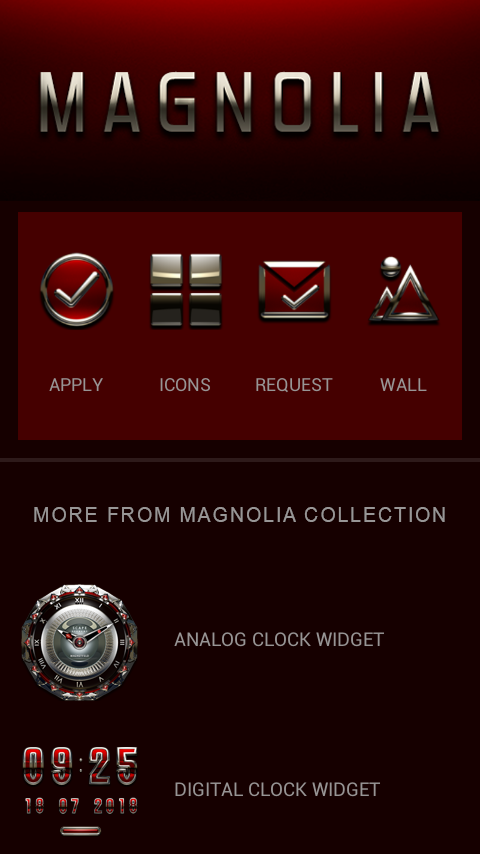 MAGNOLIA Icon Pack Screenshot 4