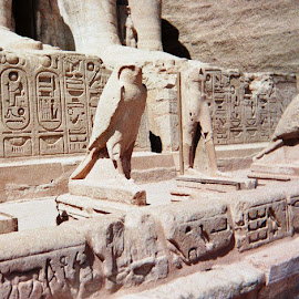 Horus Watches Ramses by Carol Boshears - Landscapes Travel