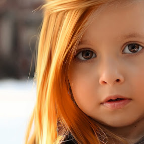 orange hairs by Julian Markov - Babies & Children Child Portraits ( ofera )