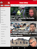 Screenshot of Krone