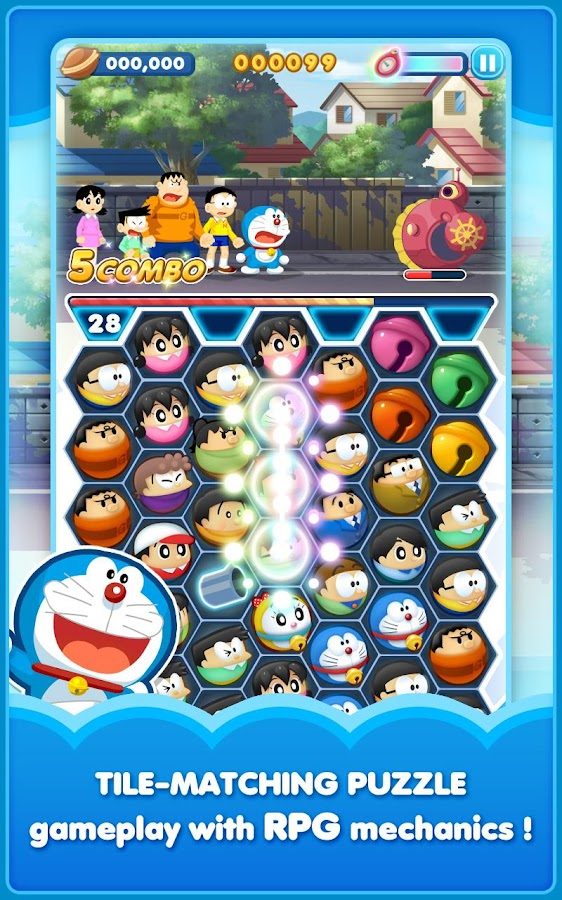 Doraemon Gadget Rush Screenshot 1