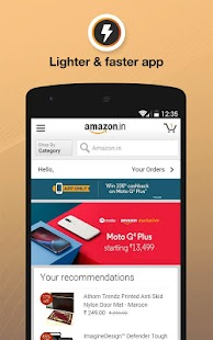 Amazon India Online Shopping for Lollipop - Android 5.0