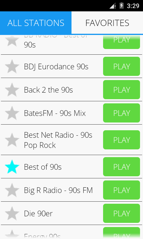 90s Music Radio Pro Screenshot 2
