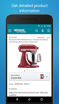 Amazon Shopping APK screenshot thumbnail 7