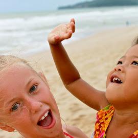 Summer on the beach. by James Calvert - Babies & Children Children Candids (  )