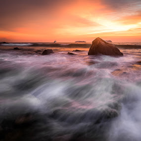 Yearning for you by Gerard Macorvick - Landscapes Sunsets & Sunrises