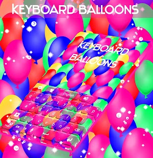 Balloons Keyboard - screenshot