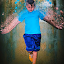 Kid Water Scatter by Andrew Gunn - Abstract Water Drops & Splashes ( abstract, kids, portraits, people, photoshop,  )