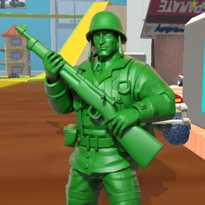 Army Toy Men : Army  War Shooter For PC / Windows 7/8/10 / Mac – Free Download