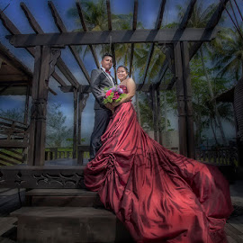 prewedding by Freddie Ambrose - Wedding Bride & Groom