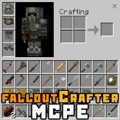 Download FalloutCrafter Addon MCPE Mod APK for Laptop