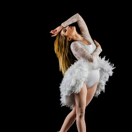 ballet dancer by Dee Tee - People Musicians & Entertainers ( skirt, movement, ballet, feathers, dance,  )