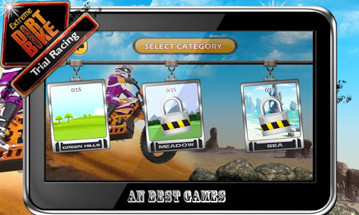 Extreme Dirt Bike:Trail Racing - screenshot