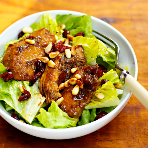 Slow Cooker Pomegranate Chicken Salad