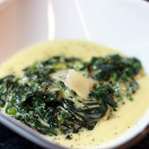TLC - Low Carb Creamed Spinach Side Dish