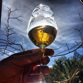 Fort Ross Vineyard 2013 Late Harvest Chardonnay by Brett Chulada - Food & Drink Alcohol & Drinks ( wine wineglass chardonnay )