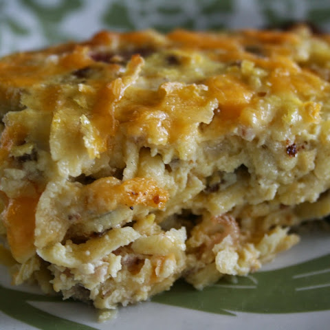 Three Cheese Hashbrown Casserole