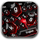 Black Red Crystal Keyboard APK