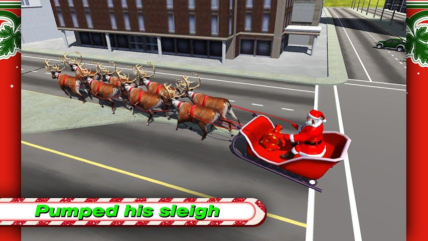 android Santa Rally Drift LOKO HD Screenshot 5