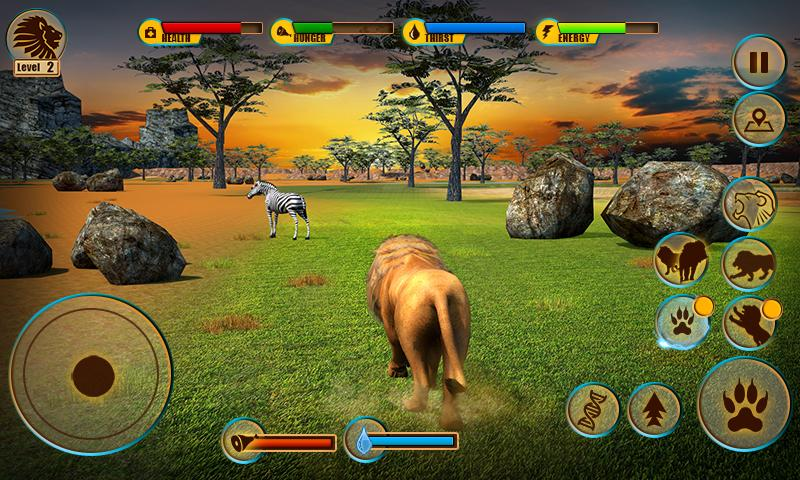 Ultimate Lion Adventure 3D Screenshot 3