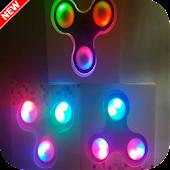 Wallpaper Fidget spinner neon APK for Bluestacks