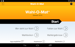Screenshot of Wahl-O-Mat
