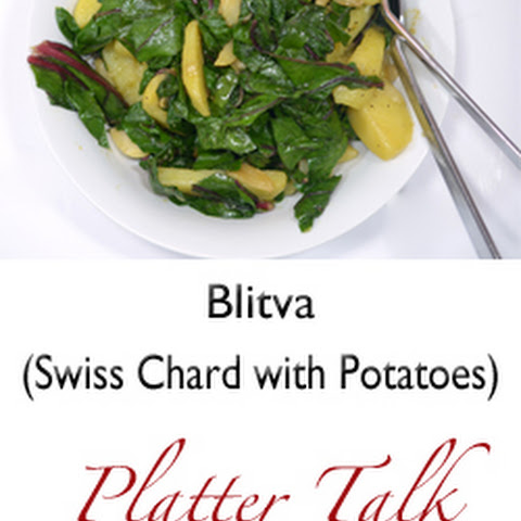 Blitva (Swiss Chard with Potatoes)