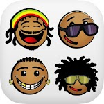 African Emoji Keyboard 2018 - Cute Emoticon Icon