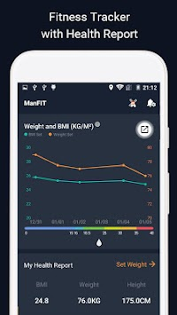 ManFIT - Workout At Home With No Fitness Equipment APK screenshot thumbnail 3
