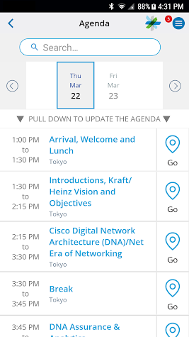 Cisco Customer Experience Center Screenshot
