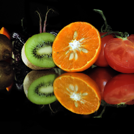 citrus with tomatoes by LADOCKi Elvira - Food & Drink Fruits & Vegetables ( fruits )